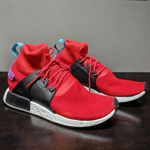 Adidas NMD XR1 Winter BZ0632  Red Knit Ultra Boost